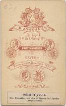 Bedruckte Rückseite von Inv.-Nr. vu-VIS-00267