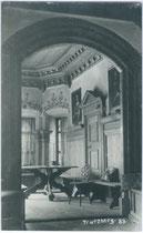 Wand- und Deckengetäfel einer Stube im Schloss Tratzberg, Gemeinde Stans bei Schwaz, Tirol. Gelatinesilberabzug 9 x 14 cm ohne Impressum, um 1910.  Inv.-Nr. vu914gs00457