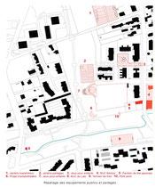 Equipements publics et partagés - Pau, Jardins du Laü