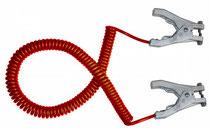 Erdungsklammer mit Kabel