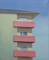 Berliner Haus II   2018, 50 x 40 cm  (Privatbesitz)