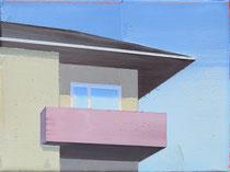 Balkon   2018, 18 x 24 cm
