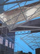 Streben   2009, 100 x 75 cm  (Privatbesitz)
