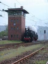 Dampflok 95 027 im Bahnhof Blankenburg, 22.05.2010
