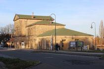 Bahnhofsgebäude Blankenburg, Strassenseite, 2013