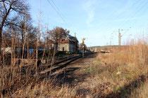 Bahnhof Blankenburg, Kopfende mit Wasserstation, 2013
