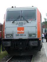 HVLE-Diesellok 285 001 in Blankenburg, 22.05.2010