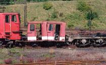 Reste von 171 007 am Bw Blankenburg im August 2002