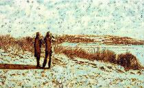 """Tal"", 2015, Öl auf Leinwand, 70 x 115 cm"