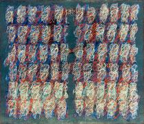 O.T., 1994, Öl auf Leinwand, 140 x 160 cm