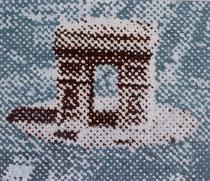 """Das Tor V"", 2002, Öl auf Leinwand, 120 x 140 cm"