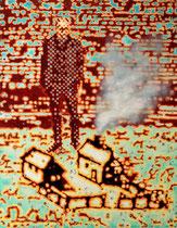 """Modell"", 2010, Öl auf Leinwand, 160 x 125 cm"