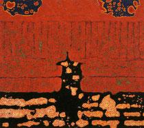 "O.T. (""Das Tor""), 1999 - 2000, Öl auf Leinwand, 115 x 130 cm"