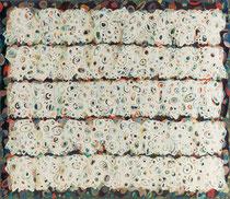 O.T. (unersättlich-diszipliniert), 1994, Öl auf Leinwand, 140 x 160 cm