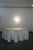Entrelacs + Des bris ; vue d'expo