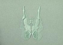 A l'ombre des papillons (col.3817), 2021, 18x24cm