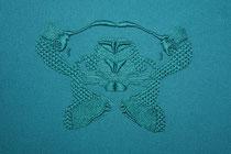 A l'ombre des papillons (col.3837), 2021, 18x24cm. Collection particulière