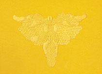A l'ombre des papillons (col.726), 2021, 18x24cm