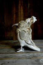 鳥・人・羊 -伊賀上野城天守閣に展示