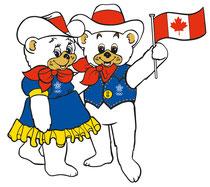 Hidy et Howdy, Calgary 1988