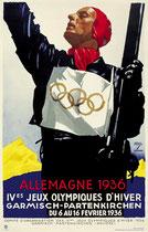 Garmisch-Partenkirchen 1936, Ludwig Hohlwein