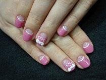 2011.11.04 ピンクなお呼ばれネイル