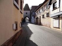 Boersch le village