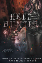 hellhunter - available • E-book 140€ •  Full cover upon request • Title font and effects can be changed and adjusted.