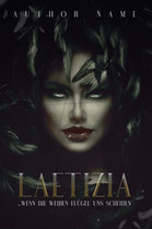 latizia - available • E-book 90€ •  Full cover upon request • Title font and effects can be changed and adjusted.