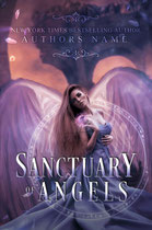 sanctuary - available • E-book 150€ •  Full cover upon request • Title font and effects can be changed and adjusted.