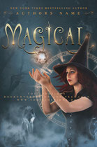 magical - available • E-book 120€ •  Full cover upon request • Title font and effects can be changed and adjusted.