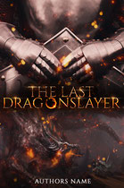 dragonslayer - available • E-book 100€ •  Full cover upon request • Title font and effects can be changed and adjusted.