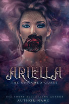 ariella - available • E-book 120€ •  Full cover upon request • Title font and effects can be changed and adjusted.
