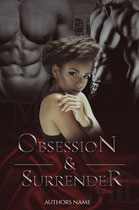 obsession - available • E-book 110€ •  Full cover upon request • Title font and effects can be changed and adjusted.