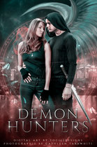 demonic - available • E-book 150€ •  Full cover upon request • Title font and effects can be changed and adjusted.