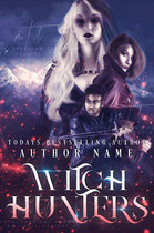 witch - available • E-book 130€ •  Full cover upon request • Title font and effects can be changed and adjusted.