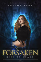 forsaken - available • E-book 120€ •  Full cover upon request • Title font and effects can be changed and adjusted.