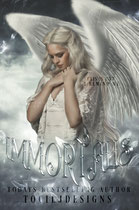 immortal - available • E-book 110€ •  Full cover upon request • Title font and effects can be changed and adjusted.