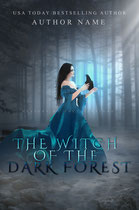 the witch - available • E-book 120€ •  Full cover upon request • Title font and effects can be changed and adjusted.