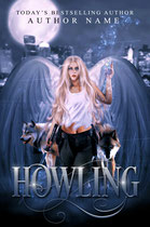 howling - available • E-book 120€ •  Full cover upon request • Title font and effects can be changed and adjusted.