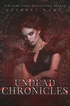 undead - available • E-book 120€ •  Full cover upon request • Title font and effects can be changed and adjusted.