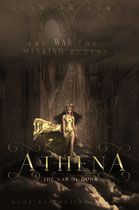 athena - available • E-book 130€ •  Full cover upon request • Title font and effects can be changed and adjusted.