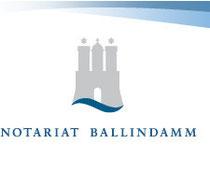 Vielen Dank dem Notariat Ballindamm