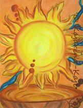 <h1>Vertraue dir und deiner Kraft</h1><b>Verwendete Materialien/Größe</b><br/>Hochwertiger 300g/qm Künstlerkarton, Pastell-Poesie, ohne Rahmen<br/>50cm x 65cm<br/><br/><b>Preis: Ich hab' schon eine Heimat</b>