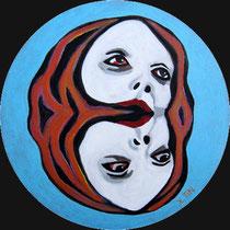 """(30cm), série """"doubles et siamoises DORICA CASTRA"""