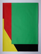 Beni Cohen-Or, o.T.,  Acryl auf Karton, 56 x 76 cm