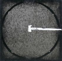Tondo #XXI 2011-60x60/tela