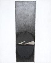 Virtù ovale n°II 2001-120x100/tela