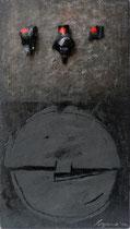 Anima nobile 2004-40x23/legno-tela