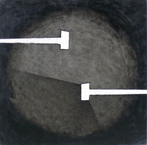 Tondo #XIII 2008-60x60/tela